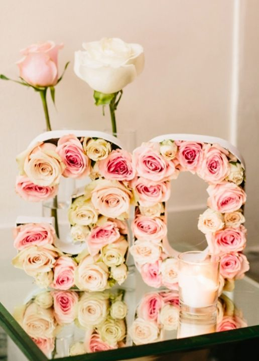 Table Decoration Ideas 40th Birthday