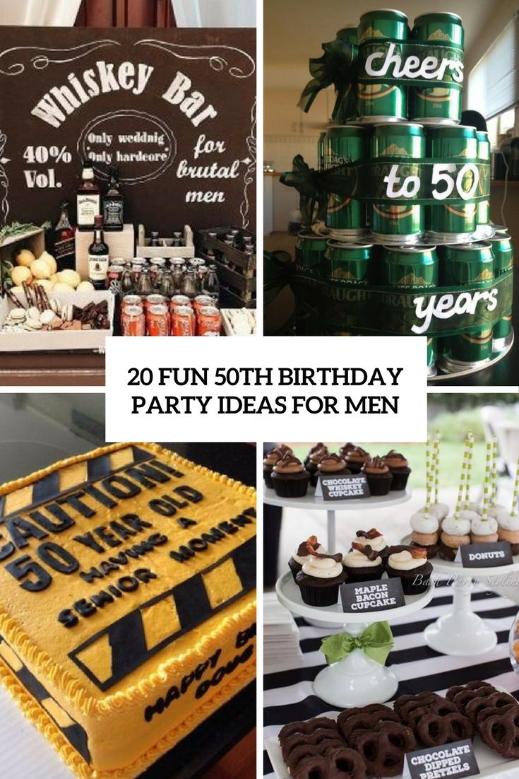 20 fun 50th birthday