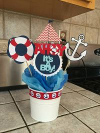 18 Boys Baby Shower Centerpieces Youll Like - Shelterness