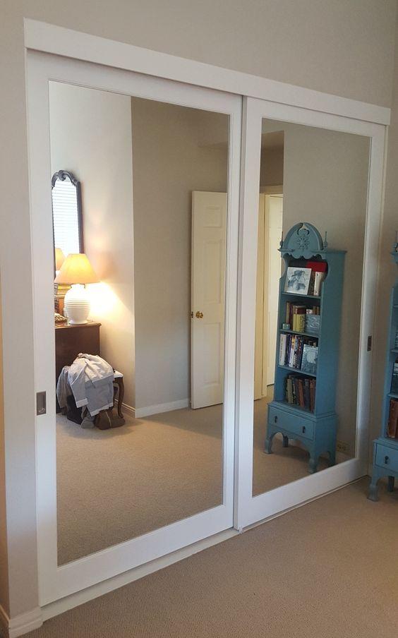 20 mirror closet and wardrobe doors ideas