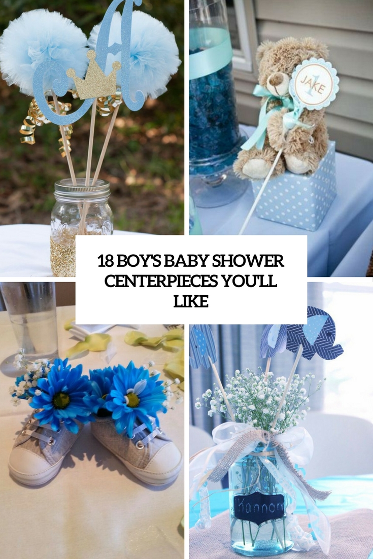 18 Boys Baby Shower Centerpieces Youll Like