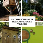 9 Diy Tree Houses With Free Plans To Excite Your Kids Shelterness