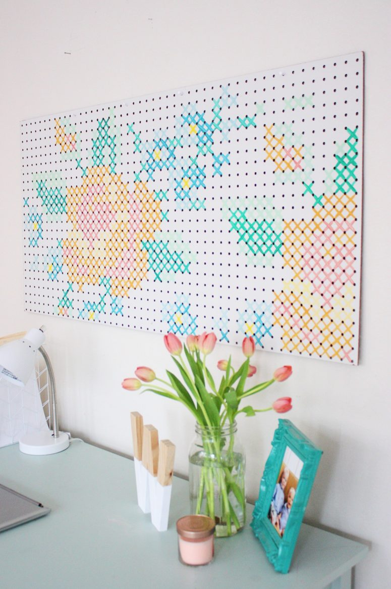 diy wall art ideas for spring home d cor shelterness