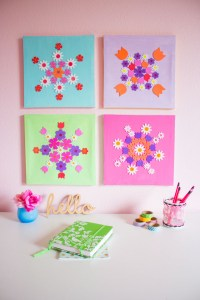 12 DIY Wall Art Ideas For Spring Home Dcor