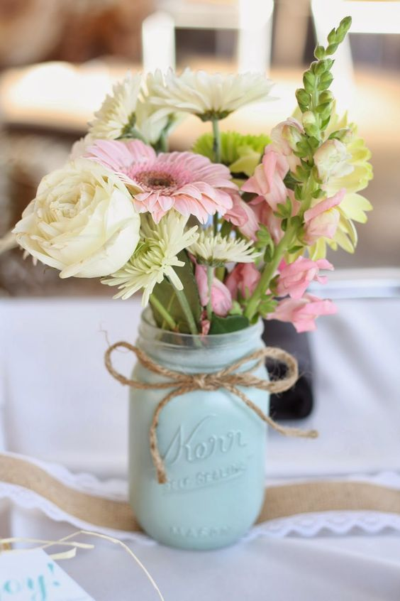 20 cute flower centerpieces
