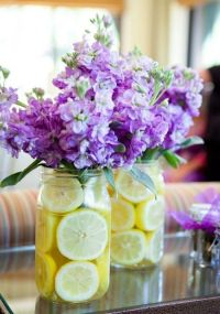 20 Cute Flower Centerpieces For A Bridal Shower - Shelterness