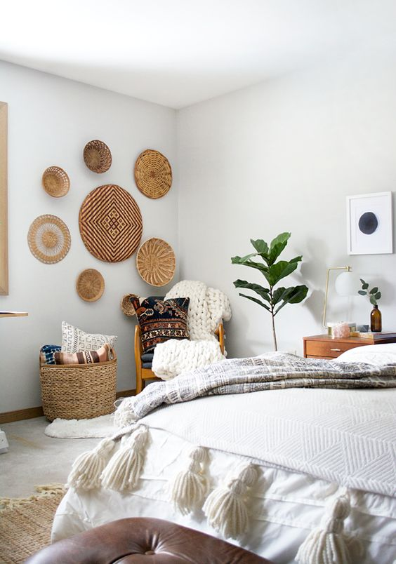 20 Wall Basket Ideas For EyeCatchy Wall Dcor  Shelterness