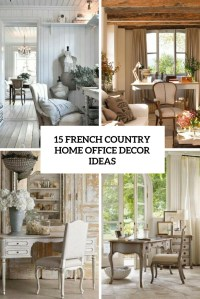 Country Home Office Decorating Ideas Photo