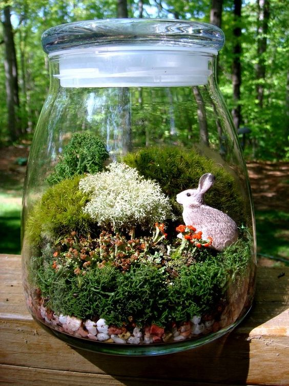 20 EyeCatchy Easter Terrariums For Holiday Dcor