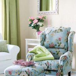 Living Room Sofa And Chair Ideas Inspiration Grey Couch 20 Timeless Chic Floral Print Upholstery ...