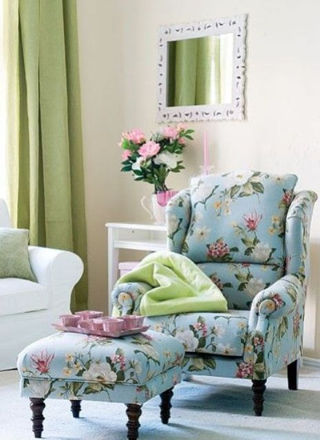 pink sofas sofa set cream color 20 timeless and chic floral print upholstery ideas ...