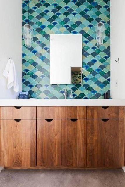 20 Cute MermaidInspired Bathroom Dcor Ideas  Shelterness