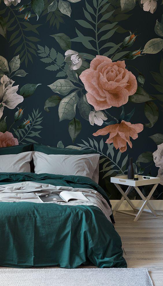 Aesthetic Girl Wallpaper 20 Super Trendy Moody Floral Wallpaper Ideas Shelterness