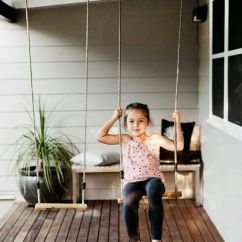 Hanging Chair For Baby Diy Gaming Race 17 Outdoor Swings To Make Your Kids Happy - Shelterness
