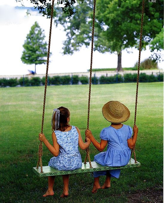 comfy kid chairs chair design research 17 outdoor swings to make your kids happy - shelterness