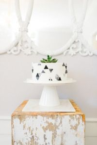 20 Cool Geometric Baby Shower Dcor Ideas - Shelterness