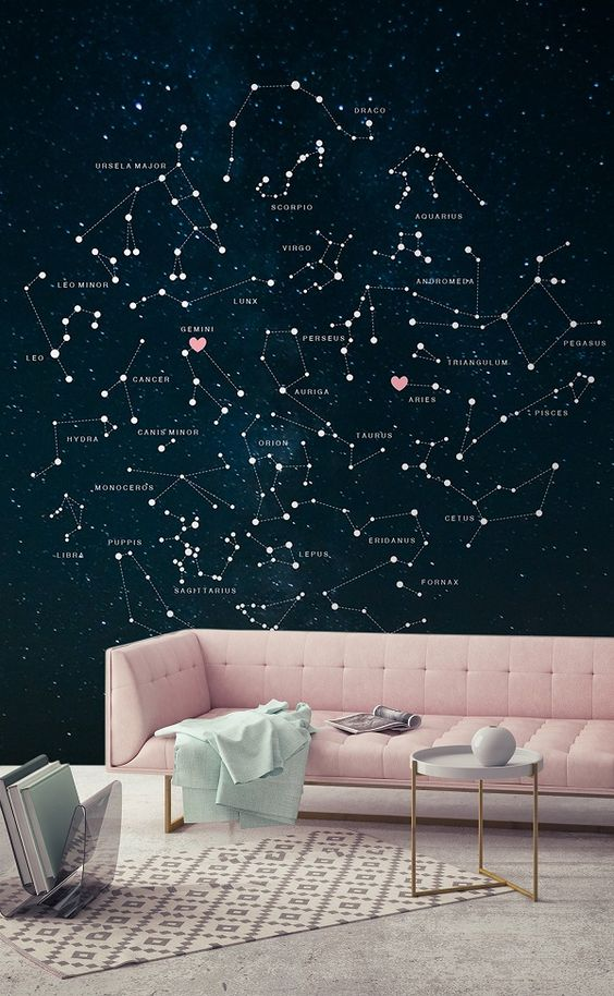 20 Trendy And EyeCatchy Constellation Home Dcor Ideas