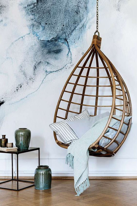 how to make a hanging chair x back plans 20 wicker chairs for vacation vibe shelterness rattan can bold statement in any modern space