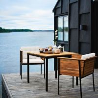 18 Modern Outdoor Dining Space Furniture Ideas - Shelterness