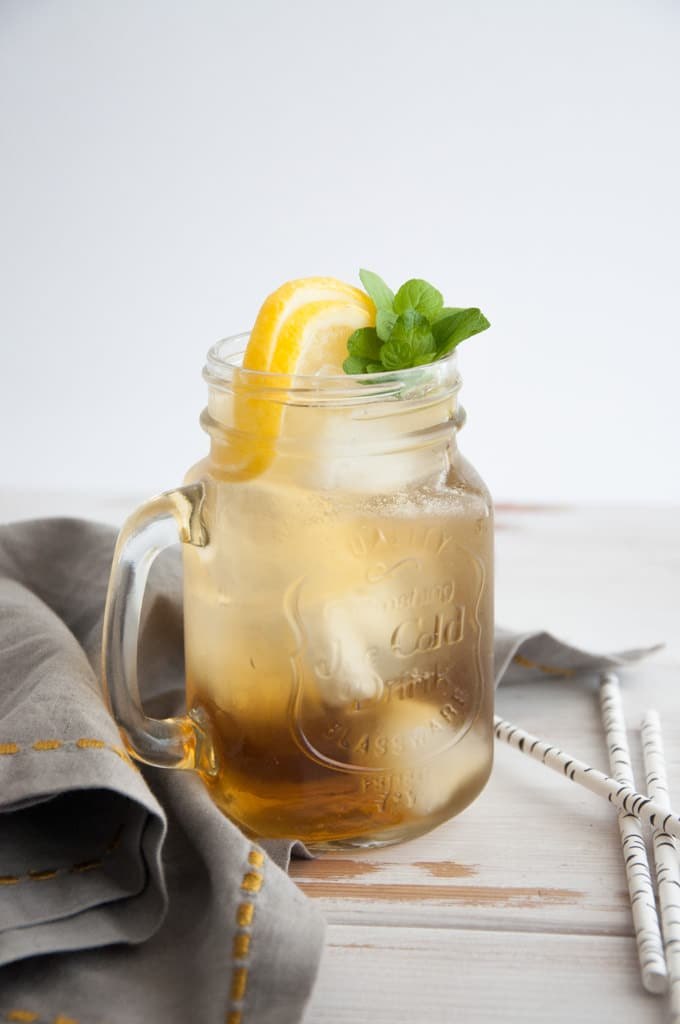 DIY double mint iced tea (via https:)