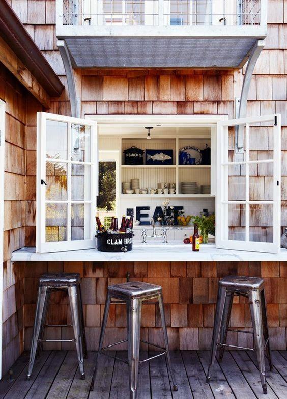 15 pass through kitchen window ideas