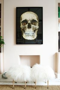 15 Skull Home Dcor Ideas Not Only For Halloween - Shelterness