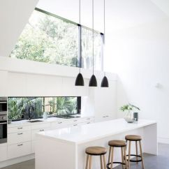 Kitchen Skylights Shop For Appliances 15 Beautiful Dining Areas With Shelterness A Double Height Ceiling Is Taken Advantage The Help Of Large Window Like