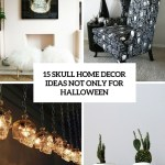 15 Skull Home Decor Ideas Not Only For Halloween Shelterness