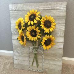 Kitchen Window Curtain Ideas Sink With Backsplash 15 Cheerful Sunflower Decor - Shelterness