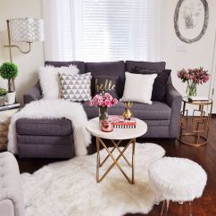 French Country Decorating Ideas For Living Rooms Red And Cream Curtains Room 15 Faux Fur Home Decor To Cozy Up The Space ...