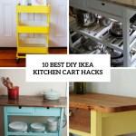 10 Best Diy Ikea Kitchen Cart Hacks Shelterness