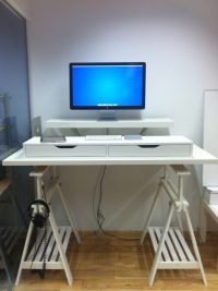 18 Coolest DIY IKEA Desk Hacks To Try - Shelterness