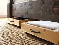13 DIY Underbed Storage Units To Make Right Now - Shelterness