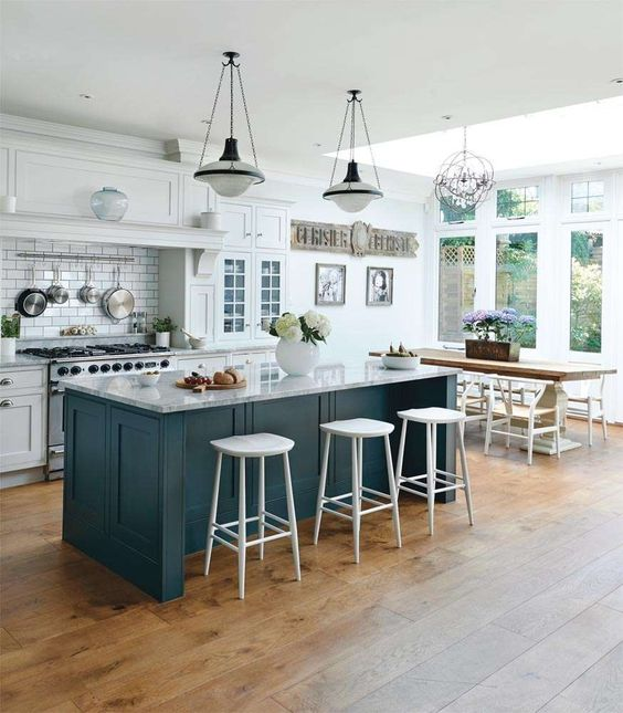 15 Cool Kitchen Islands With Eating Zones  Shelterness