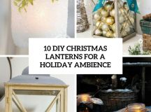 diy christmas lanterns for a holiday ambience cover