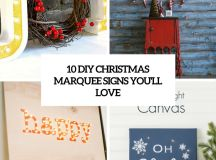 diy christmas marquee signs you'll love cover