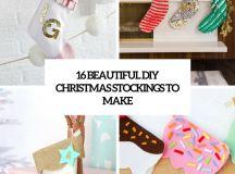 beautiful diy christmas stockings to make cover
