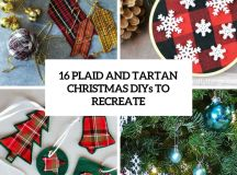 plaid and tartan christmas diys to recreate cover