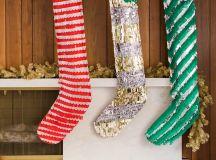 DIY oversized paper stockings (via thehousethatlarsbuilt.com)