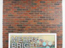 DIY Christmas marquee sign on a painting (via freshcrush.com)
