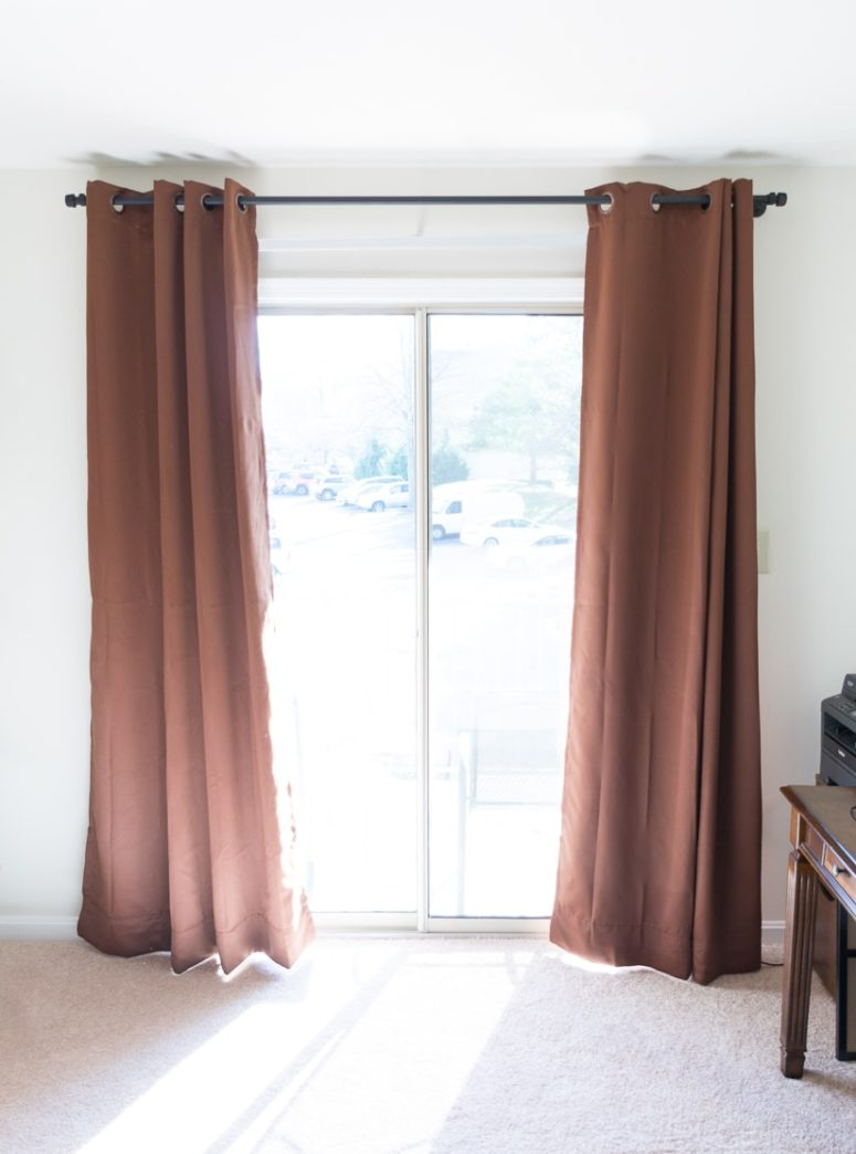 16 DIY Curtain Rods And Finials Crafts  Shelterness