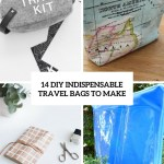 14 Diy Indispensable Travel Bags To Make Shelterness