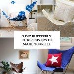 7 Diy Butterfly Chair Covers To Make Yourself Shelterness