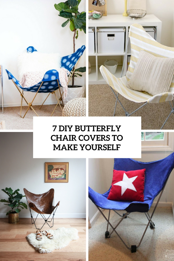 Butterfly Chair Covers 7 Diy Butterfly Chair Covers To Make Yourself Shelterness