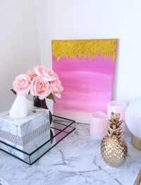 13 DIY Ombre Wall Art Pieces You Can Easily Make - Shelterness