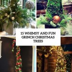 15 Whimsy And Fun Grinch Christmas Trees Shelterness