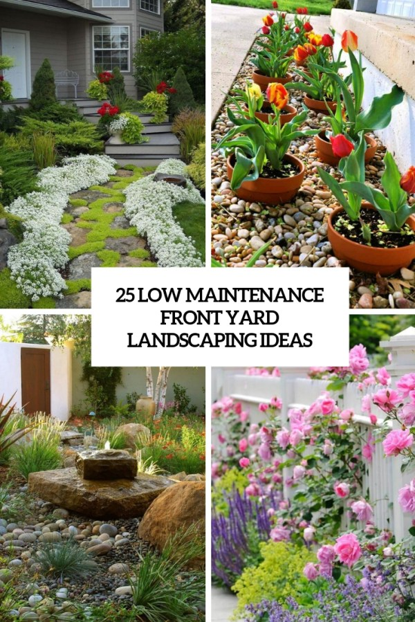maintenance front yard landscaping