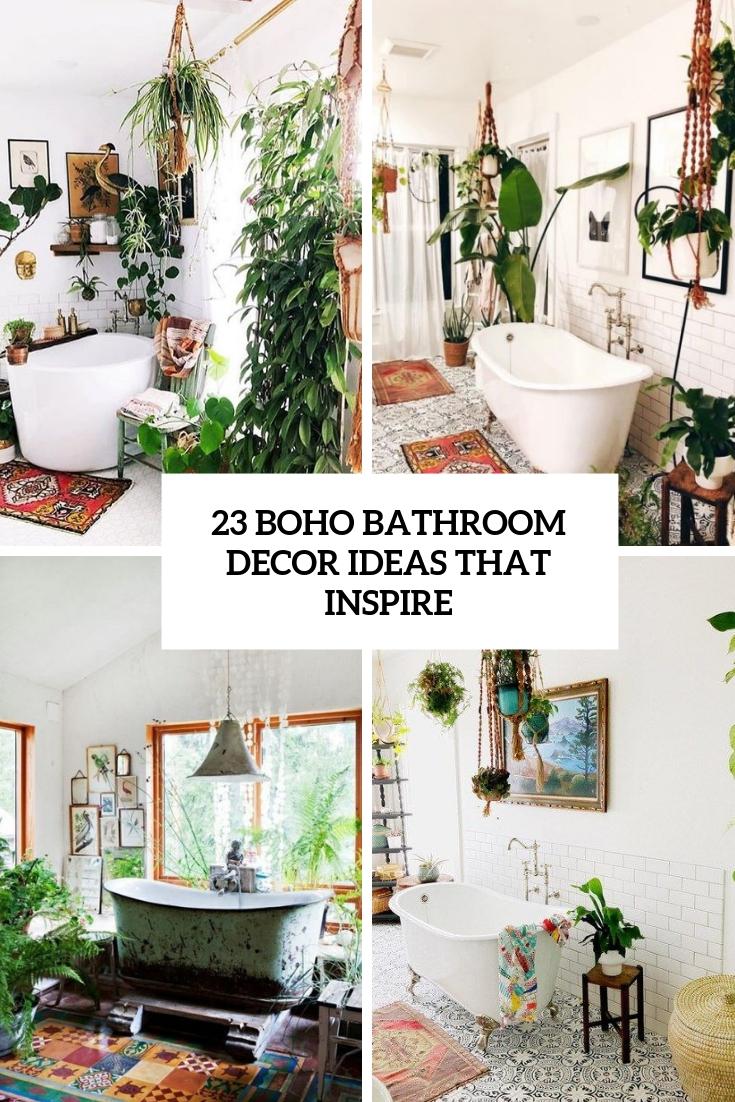 23 Boho Bathroom Decor Ideas That Inspire Shelterness