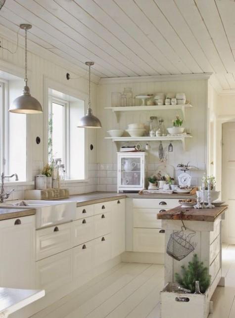 25 cozy farmhouse kitchen decor ideas