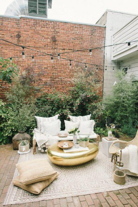 neutral terrace and patio decor ideas
